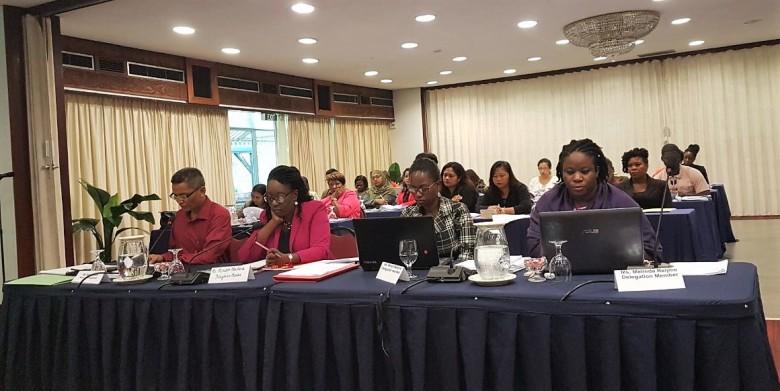 101 Foto R. Biharie Deelnemers aan de BGA simulatie sessie