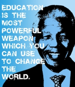 Nelson Mandela Education Quote Education Is The Most Powerful Weapon - Legends Quotes