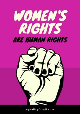 canva-pink-black-illustrated-fist-women's-rights-poster-MACPXl39xM4
