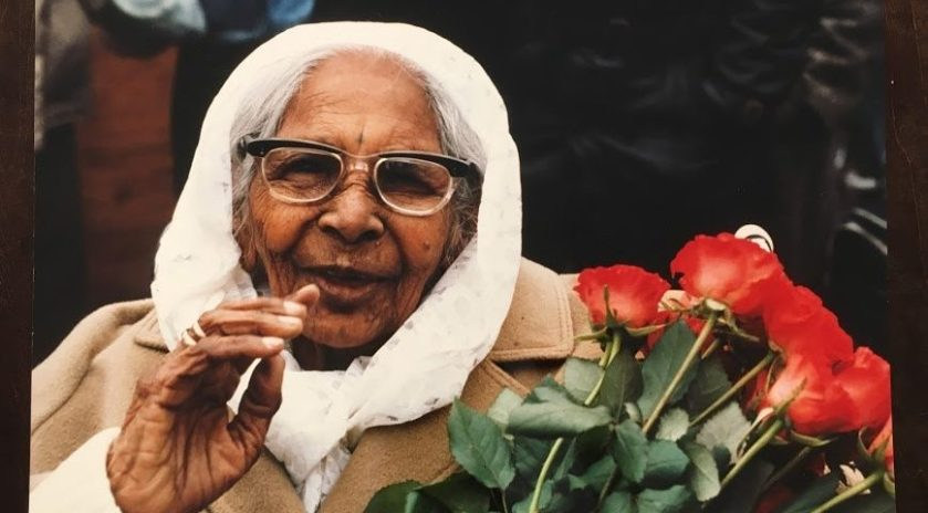 159 a Ramlali Awadhbihari was de laatste nog levende ?kantraki?, vanuit India, Suriname in Nederland-1